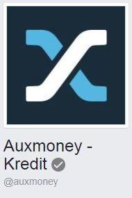 Die offizielle auxmoney Facebook-Page.